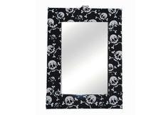Um espelhinho super divertido para decorar sua casa!  Para conferir esse produto acesse: www.decorasampa.com