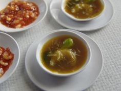 Chinese meal - Shark-fin soup