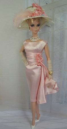 #Silkstone Barbie Summer Satin