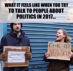 And 2018 liberal can't win in the arena of ideas so they demonize their opposition racist Nazi sexist homophob blah blah Liberal Hypocrisy, Liberal Logic, Political Memes, Political Views, Out Of Touch, Conservative Politics, Truth Hurts, Humor, In This World