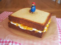 "Rosie Bakes It: Marmalade Sandwich Cake perfect for Paddington Bear fans. ""Marmalade Cakewich"""