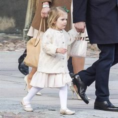 Swedish Royal Family attended the christening of Desiree Magnuson, Princess Christina's first grandchild. Afterwards all but the queen headed to a private lunch.21/03/2015