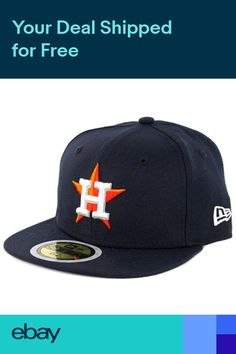0d5d850cd02 New Era 59Fifty AC Youth On Field Houston Astros Home (Navy) Fitted MLB Cap