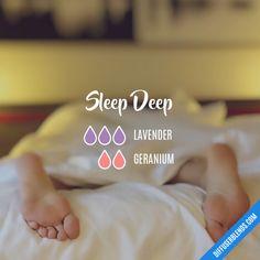 Sleep Deep - Essential Oil Diffuser Blend