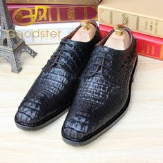 Alligator Men Dress Shoes With Metal Tips Toe Party Gold Crocodile Pointed 46 Snake Skin Brand Large Size Club Runway Snakeskin Shoes