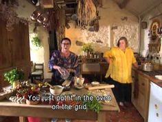 A Picnic. Two Fat Ladies: Series Two, Episode Four. Location: Llandudno, Wales. Cooked for Côr Meibion Colwyn. The recipes were Crème Vichyssoise Glacée; Welsh Lamb Pie; Tartine from Provence; and Mitton of Pork.
