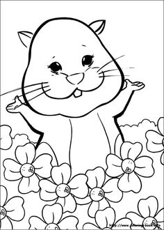 Zhu Pets Coloring Pages For Kids 26