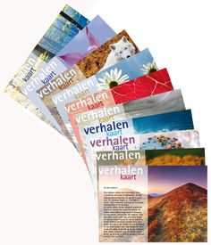 Set van 10 verhalenkaarten (serie 1)