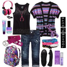 """Back to School Style"" by laurie-riley on Polyvore"