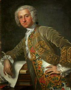 Portrait of an Unknown Gentleman by Jean-Baptiste van Loo, 1740