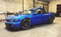 Subaru Impreza WRX STi, pickup conversion.