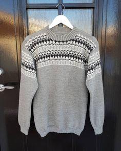 Sjekk DE tøffe fargene til Oskargenser - Knitting Inna Men Sweater, Pullover, Photo And Video, Quilts, Knitting, Boys, Sweaters, Fashion, Sleep Dress