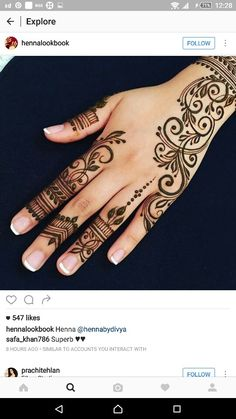 Advice About Hobbies That Will Help Anyone – Henna Tattoos Mehendi Mehndi Design Ideas and Tips Henna Tattoo Hand, Henna Tattoos, Henna Tattoo Muster, Henna Ink, Henna Body Art, Sexy Tattoos, Tattoos For Guys, Tattoo Tree, Tattoo Hip