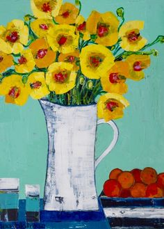 Gale's Poppies by Anna Blatman