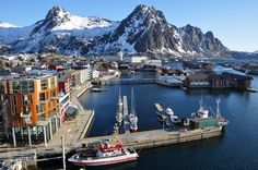 Svolvaer, Lofoten, Norway Go on a Hurtigruten Classic Cruise to see it yourself.