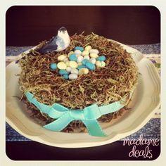 Easter Spring Nest Table Decor