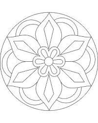 Simple Mandala Flower Coloring Pages. 30 Simple Mandala Flower Coloring Pages. Easy Flower Mandala Coloring Pages at Getdrawings Rangoli Designs, Rangoli Patterns, Mosaic Patterns, Embroidery Patterns, Stencil Patterns, Pattern Coloring Pages, Flower Coloring Pages, Mandala Coloring Pages, Printable Coloring Pages