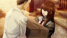 Steins Gate Okabe and Kurisu. It's hilarious to watch them banter back and forth. But you can tell that in their own ways, they care for each other deeply. Neko, Steins Gate 0, Gate Pictures, Kurisu Makise, Good Anime Series, Kagerou Project, Anime Nerd, Another Anime, Tsundere