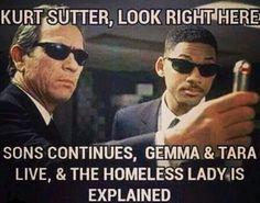 Somebody please talk some sense into Kurt Sutter!!