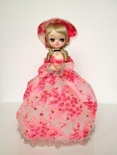 Vintage Pink Big Eye Bradley Doll