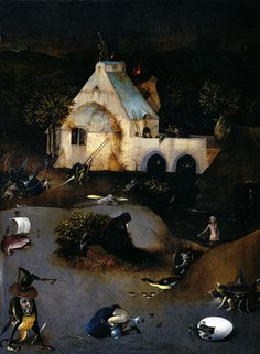 Hieronymus Bosch, Tentation de Saint Antoine on ArtStack #hieronymus-bosch #art