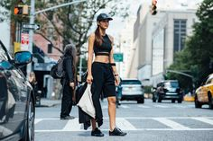 The Locals — The Locals – Street Style from Copenhagen and elsewhere New York Street, Mix Match, Fashion Pictures, The Locals, Amazing Women, Sportswear, Latest Trends, High Waisted Skirt, Cool Style