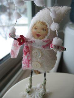 Snow Girl by kandeland, via Flickr