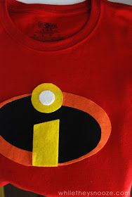 While They Snooze: How to Make The Incredibles Halloween Costumes + Costume Contest