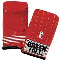 """Green Hill® Ballhandschuh """"Pro"""" - Perfekt für Training mit Boxbirne, Boxsack, Doppel-End-Ball oder Pratze  - Leichte Polsterung für maximale Übertragung der Schlagkraft  - Schützt vor Schürfverletzungen an den Fingerknöcheln  - Aus hochwertigem Rindsleder – widerstandsfähig und langlebig"""