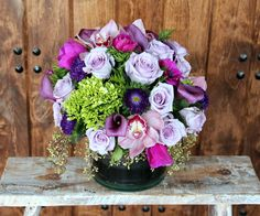 Send the Sweet Lavender bouquet of flowers from Joan's Flower Shop in Chatsworth, CA. Local fresh flower delivery directly from the florist and never in a box!