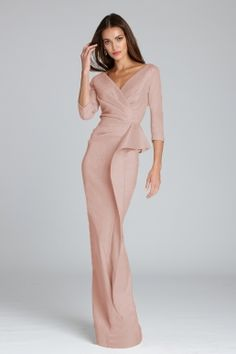 Mother Of The Bride Suits, Mother Of Bride Outfits, Mother Of Groom Dresses, Bride Groom Dress, Bride Gowns, Brides Mom Dress, Evening Gowns With Sleeves, Evening Dresses, Dresses With Sleeves
