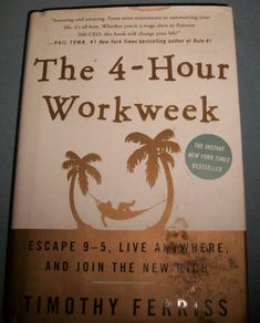 The 4 Hour Workweek Escape 9 5 Live Anywhere Join The New Rich Timothy Ferriss | eBay