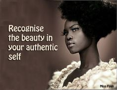 Recognize Authenticity @beautifullymeLP