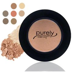 Premium quality eye-shadows for natural-looking brows.  7 shades to chose from. By Purely Pro Cosmetics