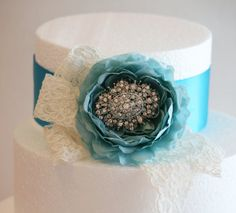 Hey, I found this really awesome Etsy listing at https://www.etsy.com/listing/185010045/tiffany-blue-wedding-cake-decorations