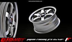 """Jante Japan Racing JR3 15x7.0"""", Gunmetal"""