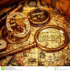 old map compass - Google Search