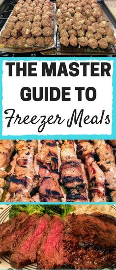 This series explains how to stock your freezer for up to 3 months at a time! Most meals can be ready to serve in less than 15 minutes! Save time and money meal planning!