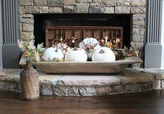 rustic-farmhouse-dough-bowl-filled-with-white-pumpkins-neutral-fall-home-tour-at-refresh-restyle