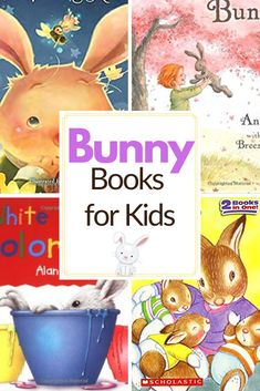 With both spring and Easter just around the corner, it's time to fill your book basket with our favorite children's books about bunnies. Kindergarten Books, Preschool Books, Preschool Themes, Fun Activities For Kids, Literacy Activities, Toddler Preschool, Best Toddler Books, Montessori Books, Book Baskets