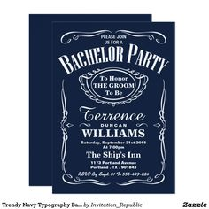 Gentlemans bachelor party invitations version 5 invitation gentlemans bachelor party invitations version 5 invitation pinterest bachelor party invitations bachelor parties and party invitations stopboris Gallery