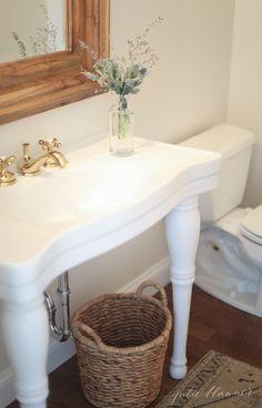 small-powder-room-1 - Julie Blanner entertaining & home design that…