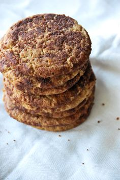 I love making cookies, but I LOVE making healthy cookies! Seriously, it's so awesome to be able to make treats that are just as healthy as our snacks and meals. My girls and hubby love it, too, cau...