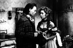 John Depp with Mili Avital in Jim Jarmusch's Dead Man