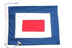 Nautical Flag Letter - W