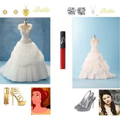 Belle & Belle from Once Upon a time wedding