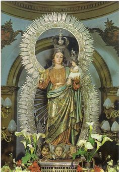 Virgen de la Caridad. Patrona de Loja.