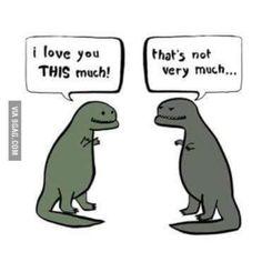 First world dinosaur problems! Tag your friends. #trex #dinosaur #tyrannosaurus #jurassicworld #tyrannosaurusrex #dinosaurs #dino
