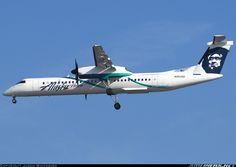 Alaska Airlines (Horizon Air) De Havilland Canada DHC-8-402Q Dash 8  Los Angeles - International (LAX / KLAX) USA - California, March 5, 2014
