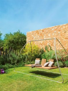garden swinging chair HOME VITEO OUTDOORS